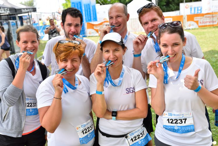 XII ULTRABALATON SGS TEAM